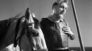 Don Chisciotte di Scialapin nel film di Pabst