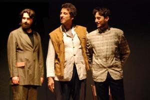 PADRI E FIGLI Marco Bianchini (Basarov) Valerio Camporesi (Nicolaj) Matteo Pecorini (Arkadij)