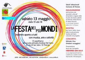 FESTA DEI PIU' MONDI @ Scuola A. Del Sarto | Firenze | Toscana | Italia