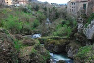 Loro Ciuffenna Il fiume 2