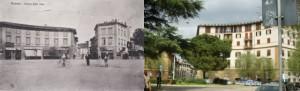 Piazza delle Cure ieri ed oggi