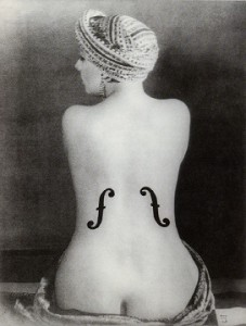 Man Ray Violon d'Ingrès